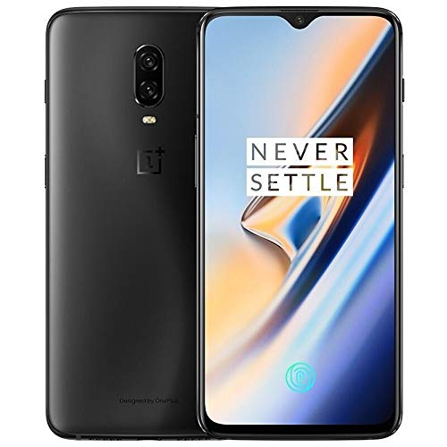 OnePlus 6T A6013 256GB Storage + 8GB Memory Factory Unlocked 6.41 inch AMOLED Display Android 9 - Midnight Black US Version