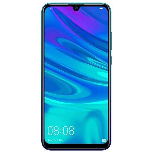 Huawei P Smart 2019 (32GB, 3GB) 6.21' FHD+ Display, Dual Camera, 3400 mAh Battery, 4G LTE GSM Dual SIM Global Unlocked (Pot-LX3) - International Version - No Warranty (Blue)