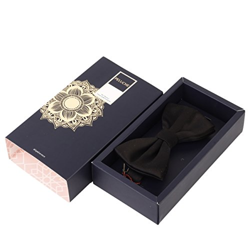 Peluche essentials black coloured premium cotton bowtie for men (comes in a gift box) | latest news live | find the all top headlines, breaking news for free online april 5, 2021