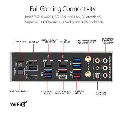 ASUS-ROG-Maximus-XII-Hero-Z490-WiFi-6-LGA-1200-Intel-10th-Gen-ATX-Gaming-Motherboard-142-Power-Stages-DDR4-4800-5Gbps-LAN-Intel-LAN-Bluetooth-v51-Triple-M2-Aura-Sync