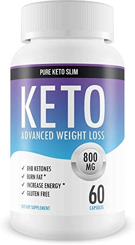 Pure Keto Slim - Keto Diet Pills - Exogenous Ketones Help Burn Fat - Weight Loss Supplement to Burn Fat - Boost Energy and Metabolism - 60 Capsules 3