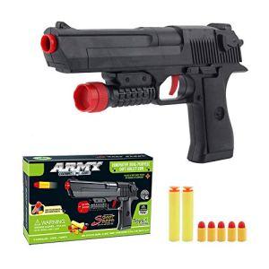 Kandall Toy Gun, Rubber Bullet Pistol Childen's toys gun – Black 41nFagZ63gL