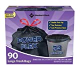 Member's Mark Power-Guard Drawstring Trash Bags 33
