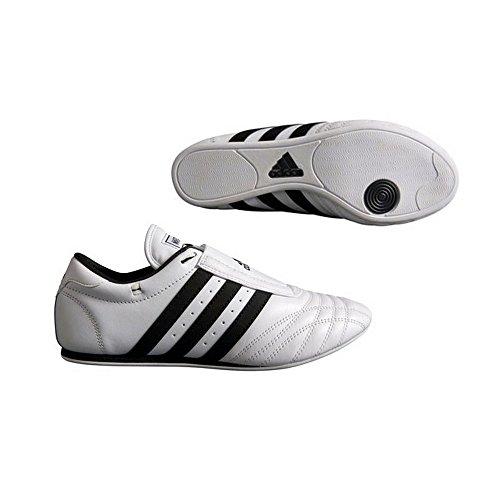 adidas SM-II Low Cut Sneaker Sneaker (White with Black Stripes) - Size 11