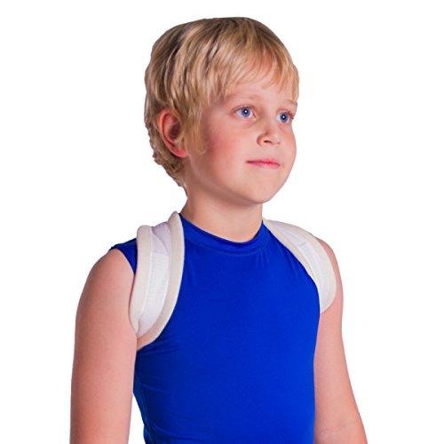 Pediatric Clavicle Fracture Figure-8 Brace for Broken Collarbone in Small Children (XS)