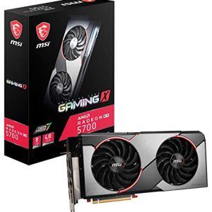 MSI Gaming Radeon Rx 5700 256-bit 8GB GDRR6 HDMI/DP HDCP Support DirectX 12 Dual Fan VR Ready Navi Architecture OC…