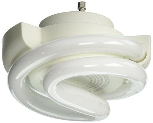 TCP Low Profile SpringLamp CFL Light Bulb - Soft White 60W Equivalent (2700K) GU24 Twist and Lock Base