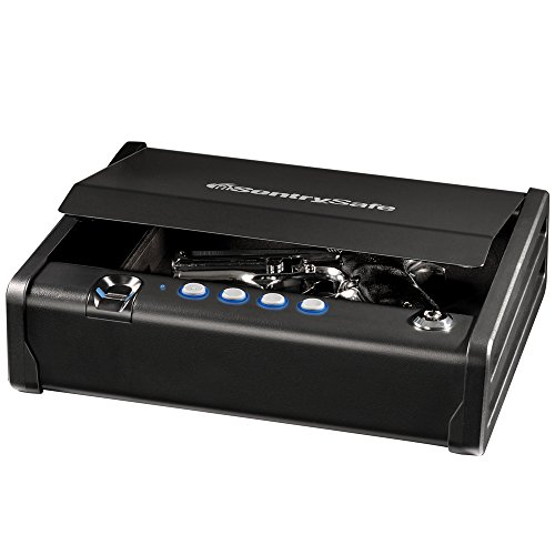 SentrySafe QAP1BE Gun Safe with Biometric Lock, 1 Capacity