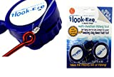 HOOK-EZE HookEze Fishing Gear Knot Tying Tool Large Saltwater Hooks | Line Cutter cuts Braid and Leader | Cover Hooks on Fishing Poles Travel Safely Fully Rigged
