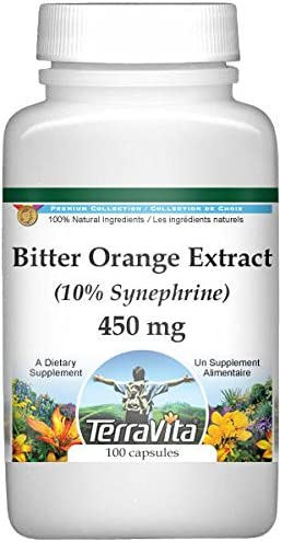 Bitter orange extract dietary supplement for weight loss