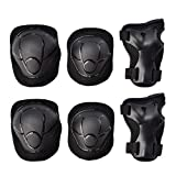 GOBEST Kids Protective Gear Set, Child Knee Pads Elbow Pads with Wrist Guards 3 in 1 for Boys and Girls...