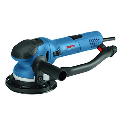 Bosch Power Tools - GET75-6N - Electric Orbital Sander, Polisher - 7.5 Amp, Corded, 6'' Disc Size - features Two Sanding Modes: Random Orbit, Aggressive Turbo for Woodworking, Polishing, Carpentry