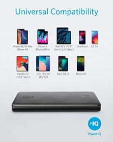 Anker-Power-Bank-PowerCore-Slim-10000-Ultra-Slim-Portable-Charger-Compact-10000mAh-External-Battery-High-Speed-PowerIQ-Charging-Technology-for-iPhone-Samsung-Galaxy-and-More-USB-C-Input-Only