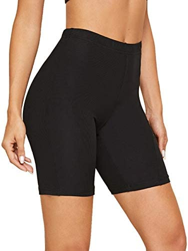 """Gayhay Biker Shorts for Women - 8"""" Soft Stretchy Athletic Short Pants for Workout Running Cycling Yoga 1"""