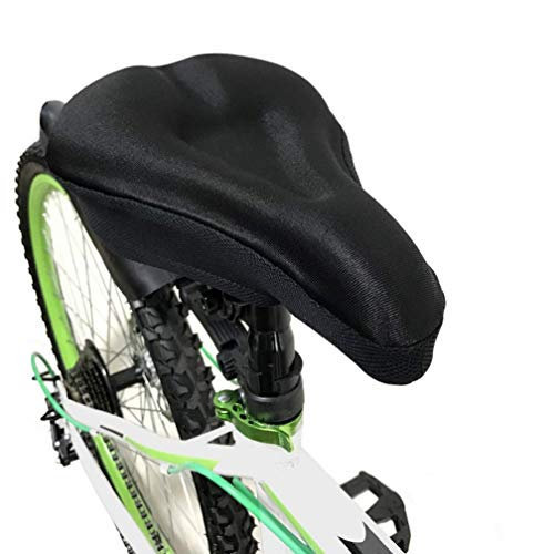 Bike Saddle,BYPA Gel Bike Seat Cover-Super Soft Bicycle/Cycling Seat Cushion with Water&Dust Resistant Cover-Padded Cushion Saddle Cover for Men Women and Kids