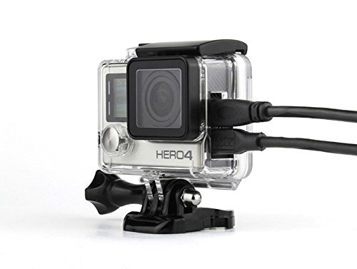 WiserElecton Side Open Skeleton Housing For GoPro Hero4 Hero3+ Hero 3