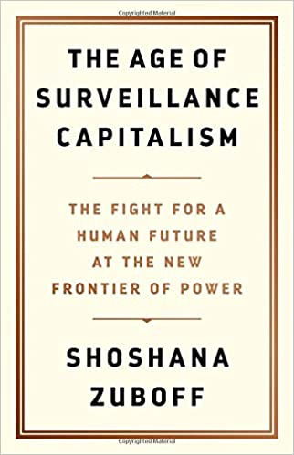 book cover of The Age of Surveillance Capitalism by Shoshana Zuboff