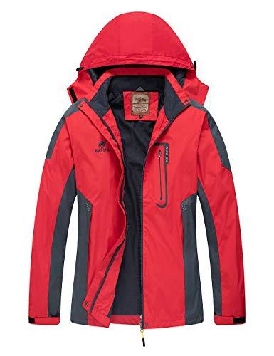 Diamond Candy Hooded Softshell Waterproof Jacket Outdoor Women's Raincoat RM