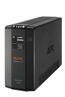 APC-UPS-1000VA-UPS-Battery-Backup-Surge-Protector-BX1000M-Backup-Battery-AVR-Dataline-Protection-and-LCD-Display-Back-UPS-Pro-Uninterruptible-Power-Supply