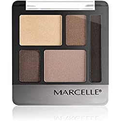 Marcelle Quintet Eyeshadow, Haute Nude, Hypoallergenic and Fragrance-Free, 0.20 oz
