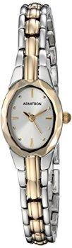 Armitron Women's 75/3313SVTT Two-Tone Dress Watch
