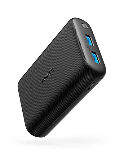 Anker PowerCore 15000 Redux, Compact 15000mAh 2-Port Ultra-Portable Phone Charger Power Bank with PowerIQ and VoltageBoost Technology for iPhone, iPad, Samsung Galaxy