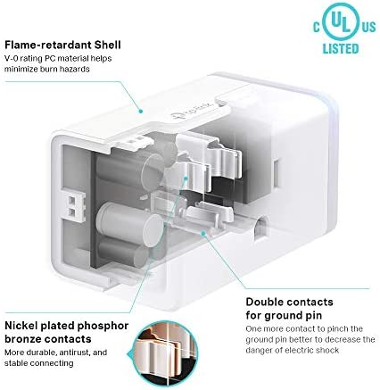 Kasa Smart Plug HS103P2, Wi-Fi Outlet works with Alexa, Echo and Google Home &IFTTT, No Hub Required, Remote Control, 15 Amp, UL Certified, 2-Pack 16