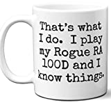 Guitar Gifts Mug. Rogue RA 100D Guitar Players Lover Accessories Music Teacher Lover Him Her Funny Dad Men Women Card Pick Musician Acoustic Unique