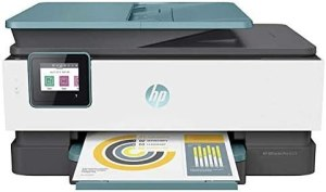 HP Officejet Pro 8028 All-in-One Printer, Scan, Copy, Fax, Wi-Fi and Cloud-Based Wireless Printing (3UC64A) (Renewed)