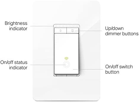 Kasa Smart Dimmer Switch HS220, Single Pole, Needs Neutral Wire, 2.4GHz Wi-Fi Light Switch Works with Alexa and Google Home, UL Certified,, No Hub Required 11