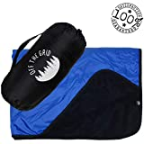 Off the Grid Camping Windproof Blanket - Stadium Waterproof Fleece Blanket for Picnics, Pets, and Outdoor Activities