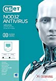 ESET NOD32 Antivirus 2019 / 3 PC's / 2.5 Year's / Windows PC / Registration Code- No CD