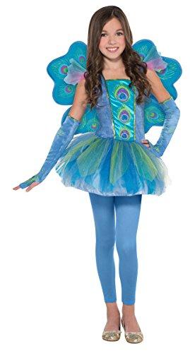 peacock costumes for tweens - Children's Peacock Princess Costume Size Medium (8-10)