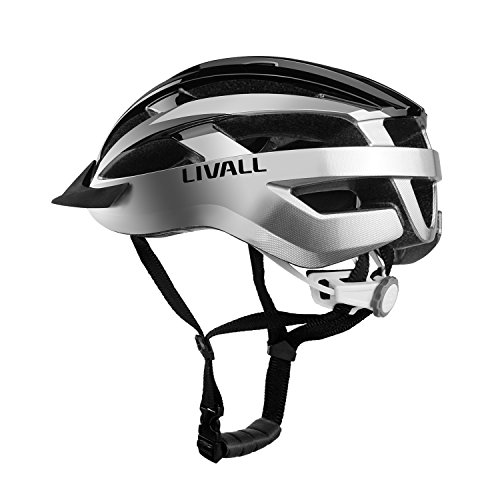 LIVALL MT1 Smart Bike Helmet , Cycling Mountain Bluetooth Helmet, Sides –Built-in Mic, Bluetooth Speakers, Wireless Turn Signals Tail Lights Setting, SOS Alert for Safe and Free Riding