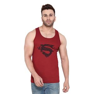 Rezalia Men's Regular Fit Tank Top (RZL-RND-SANDO-SPRMN-MRN-M_Maroon_Medium)