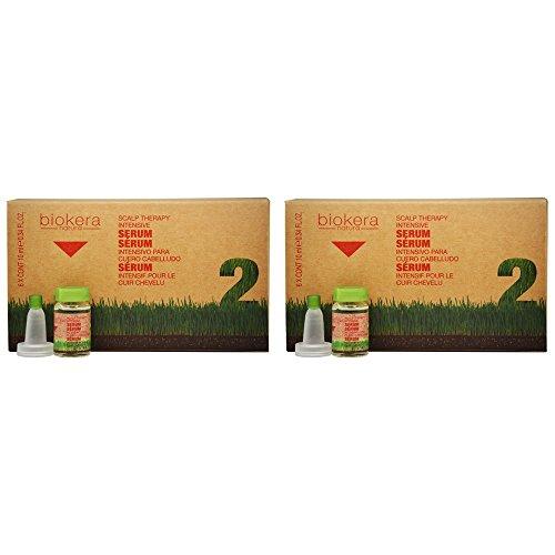 Salerm Biokera Natura Scalp Therapy Intensive Serum 6 x 0.34oz'Pack of 2'