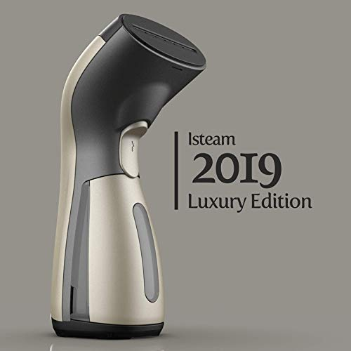 Luxury Edition Steamer Technology [2019] 8-in-1 Powerful: Clothes Wrinkle Remover- Clean- Sterilize- Sanitize- Refresh- Treat- Defrost. for Garment/Home/Kitchen/Bathroom/Car/Face/Travel [Gold]