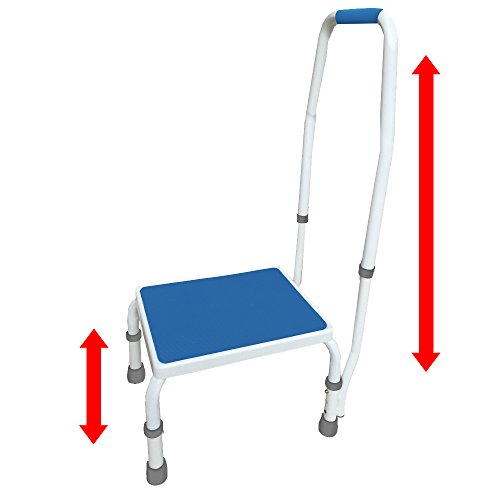 AdjustaStep(tm) Deluxe Step Stool