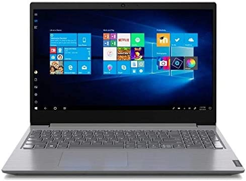 Lenovo V15 15.6-inch Laptop, AMD Ryzen 3 3250U 2.6GHz APU, 8 GB RAM, 256 GB SSD, Windows 10 Pro