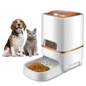 Xuliyme-6L-Automatic-DogCat-Feeder-Auto-Pet-Food-Dispenser-with-LCD-DisplayVoice-Record-Remind-Timer-Programmable-Portion-Control-for-Medium-Large-Dog-4-Meals-a-Day