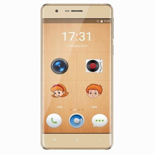 OUKITEL K4000 Lite 16GB 5.0 inch Android 5.1 Smartphone, MTK6735 Quad Core 1.0GHz, 2GB RAM GSM & WCDMA & FDD-LTE (Gold)