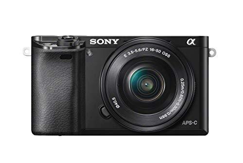 Sony Alpha a6000 Mirrorless Digital Camera 24.3MP SLR Camera with 3.0-Inch LCD (Black) w/16-50mm Power Zoom Lens