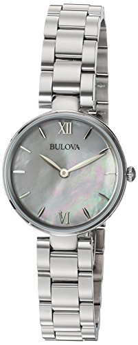 41oZiwKvp7L From the Ladies' Classic Collection Stainless steel case, white mother-of-pearl dial, flat mineral glass Analog-quartz Movement