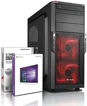 Ultra 6-Core DirectX 12 PC Gamer - Unité Centrale Gaming FX 6300 6x4.10 GHz Turbo - GeForce GTX 1050 DDR5- RAM 8Go DDR3 1600 - Stockage 2000Go HDD - Windows 10 Pro - Lecteur/Graveur DVDRW #5321