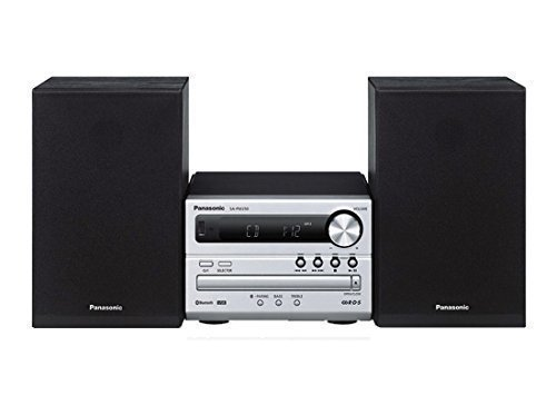 Panasonic Compact Audio System SC-PM250K Micro Music System with Bluetooth CD, USB