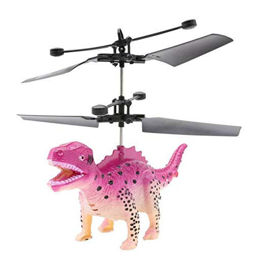 Tenfei Fashion Rc Dinosaur Plane 2CH Dinosaurs RC Drone Helicopter -Mini Flashing Light Aircraft Novelty Toys
