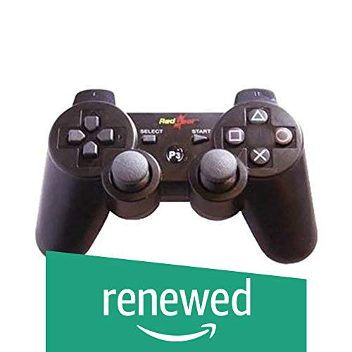 (Renewed) Redgear RG-PS3 Bluetooth Gamepad (Black)