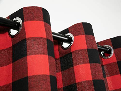 Buffalo Check Plaid Curtains