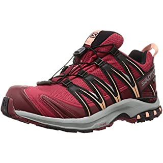 Salomon Women's Trail Running Shoes, XA Pro 3D GTX W, Deep Claret/Syrah/Coral Almond, Size: On Running Shoes Review