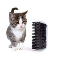 Hateli-Cat-Corner-Self-Groomer-Brush-Cat-Groomer-Cat-Wall-Corner-Massage-Comb-to-Control-Shedding-Fur-and-Itching